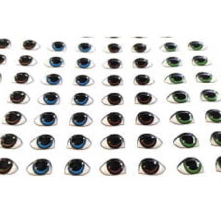 Olhos Adesivos Resinados Cód. 480