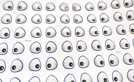 Olhos Adesivos Resinados Cód 415 Galinha Pintadinha