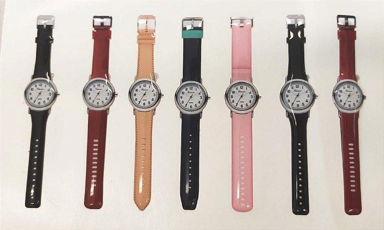 Cartela Adesiva Relógios Resinados Sortidos