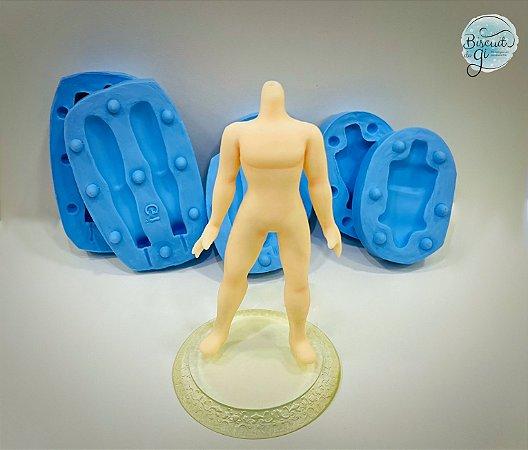 Molde Corpo Bonecos 3D