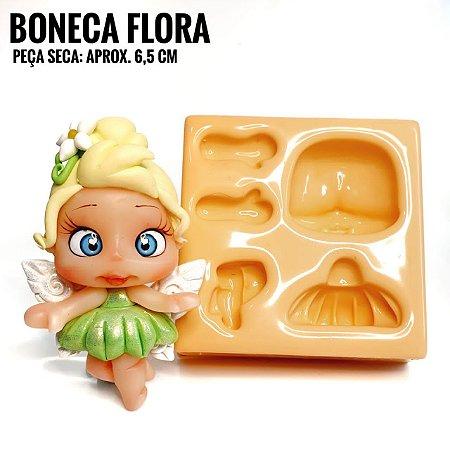 Molde Boneca Flora - Maria Diniz