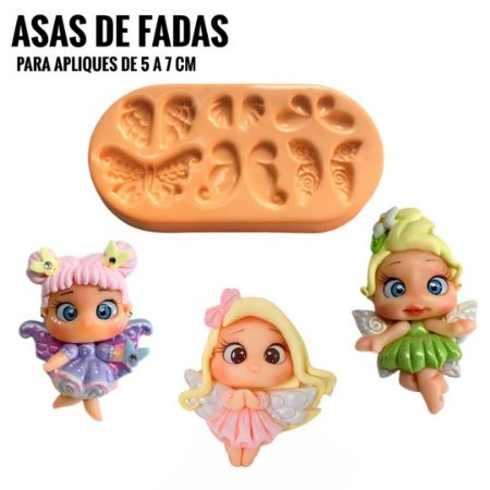 Molde Asas de Fada - Maria Diniz
