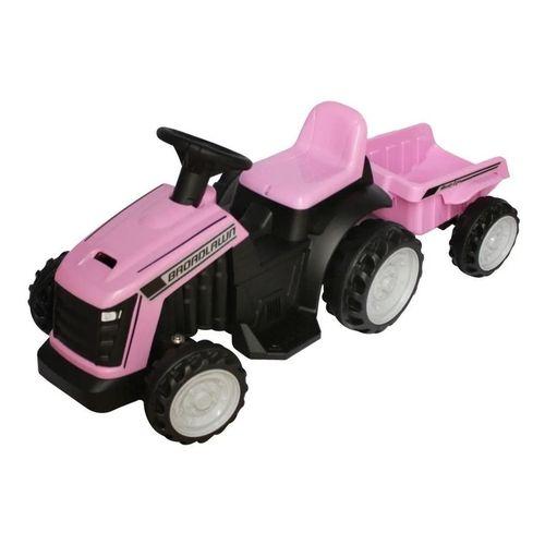 Mini Trator Elétrico Infantil Rosa da ImportWay