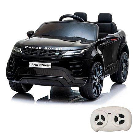 Mini Carro Elétrico Licenciado Land Rover Evoque Preto da ImportWay
