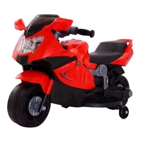 Mini Moto Elétrica 6V Vermelho - BW044VM da ImportWay