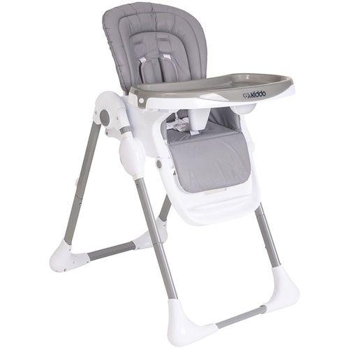 Cadeira de Refeição Lenox Kiddo Smile Cinza da Kiddo.