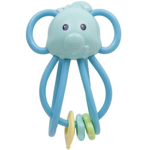 Elefantinho Chocalho Divertido Azul Buba