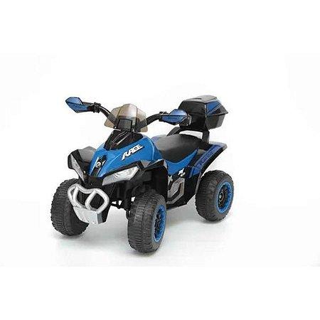 Mini Quadriciclo Elétrico Infantil 6V Azul  BW129AZ da ImportWay