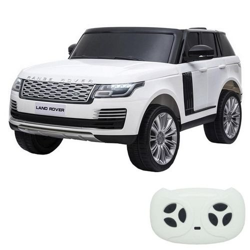 Mini Carro Elétrico Licenciado Land Rover Evoque Branco BW128BR da ImportWay
