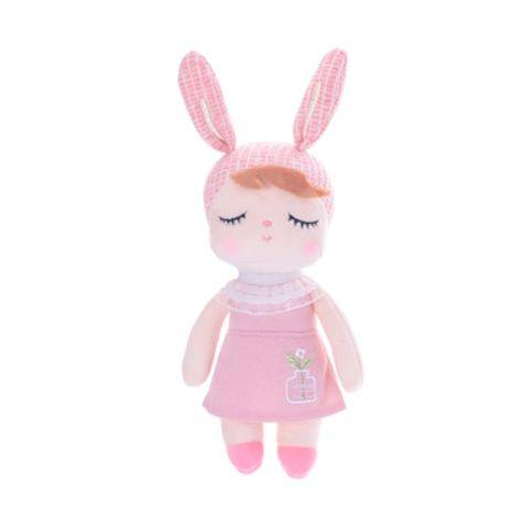 Mini Doll Metoo Angela Jardineira Rosa 20cm