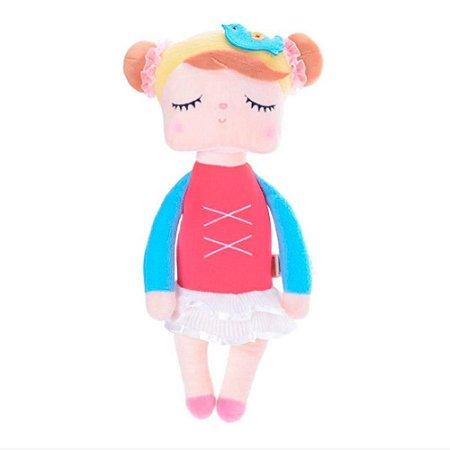 Boneca Angela Bailarina Vermelha 33cm