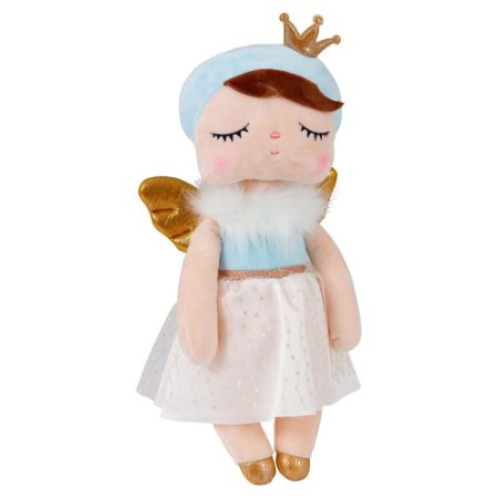 Boneca Metoo Angela Angel Azul 33cm