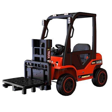 Empilhadeira Elétrica Infantil 12V Vermelho  - BW185VM da ImportWay