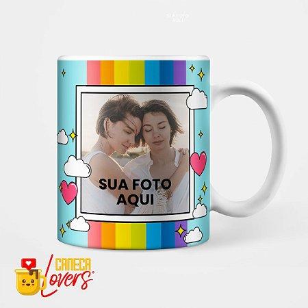 Caneca Amor é Amor - Personalizável com Foto