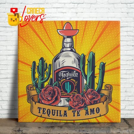 "Azulejo ""Tequila Te Amo"""