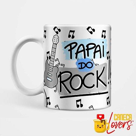 Caneca Papai do Rock