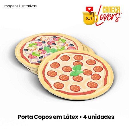 Porta Copos Pizzas