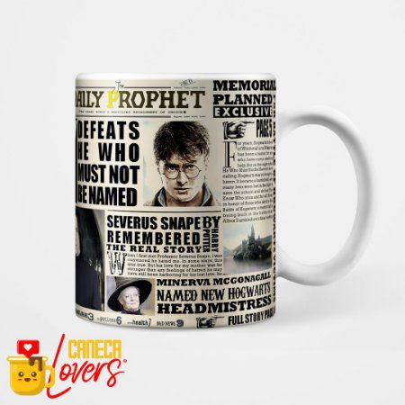 Caneca Harry Potter - The Daily Prophet