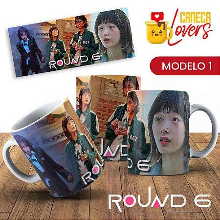 Caneca Round 6 - Personagens