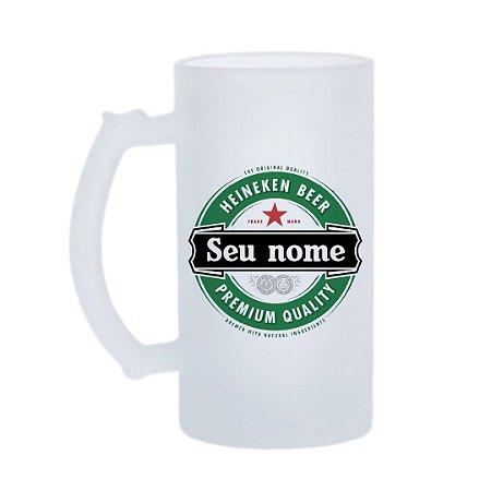 Caneca de Chopp Heineken - Nome Personalizado