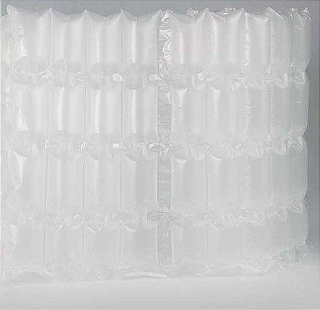 Manta Bolhada Quadrada Caixa 2 Bobinas De Filme Plástico Bolha x 300 metros cada