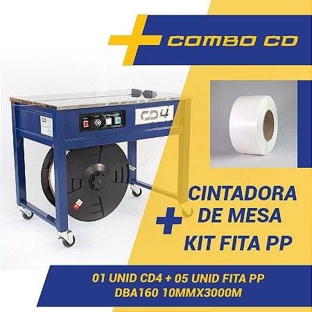 Maquina Arqueadora De Mesa CD4 + Kit 5 Fitas PP