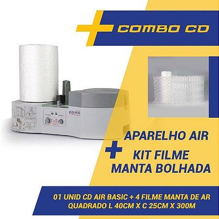 Maquina CDAIR Compact + Kit 4 Filmes Manta Bolhada