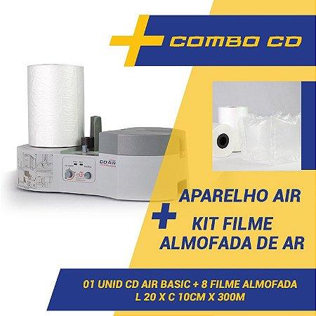 Maquina CDAIR Compact Para Almofada De Ar + Kit 8 Filmes Almofada De Ar