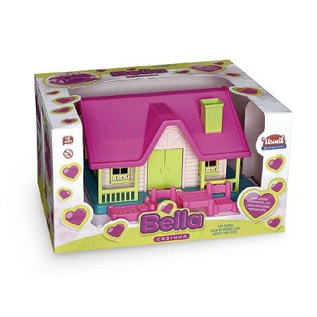 Casinha Boneca Bella Encantadora Usual Brinquedos