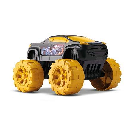 Carrinho Heroi Big Car Bold Man Orange Toys