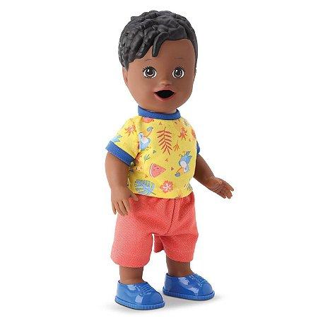 Boneco My Little Collection Mixer Boy Menino Negro