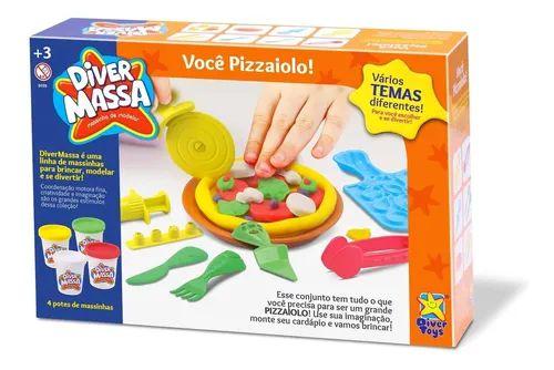 Massinha De Modelar Pizzaria Diver Massa Você Pizzaiolo