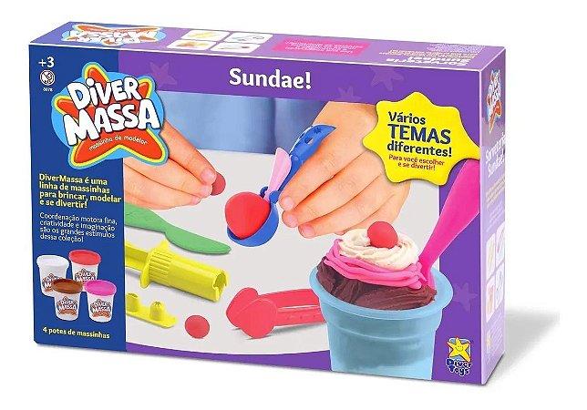 Massinha De Modelar Diver Massa Sundae Diver Toys