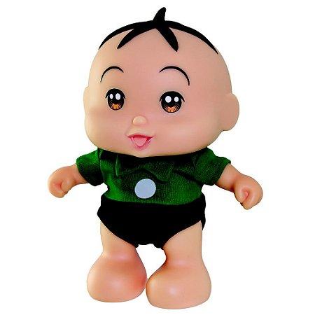 Boneco Turma Da Mônica Baby Cebolinha Fala e Canta