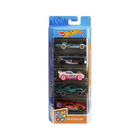 Pack 5 Carrinhos Hot Wheels Original Mattel