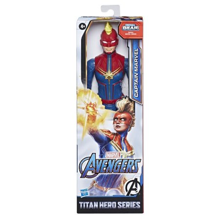 Capitã Marvel Titan Hero Series Hasbro