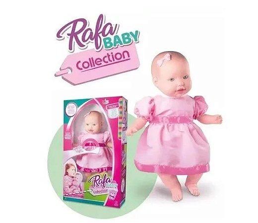 Boneca Rafa Baby Com Som Milk 348