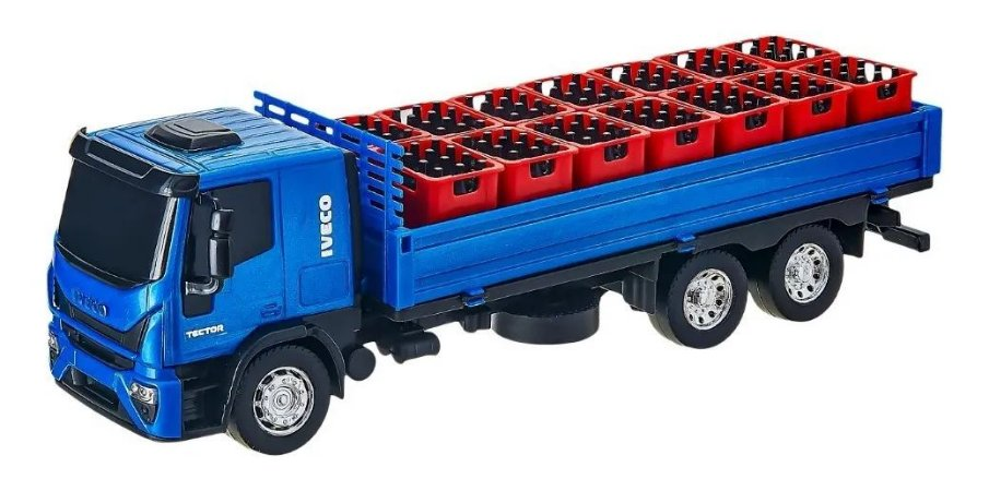 Caminhão Iveco Tector Dropside Miniatura Cores