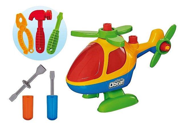 Helicóptero De Brinquedo Monta E Desmonta Didático Usual