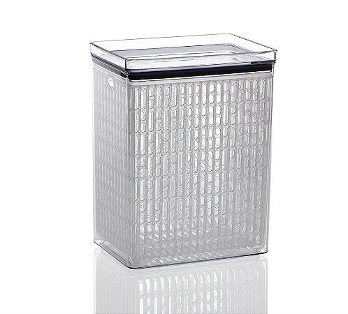 Pote Porta Tudo Fresh Hermético 4200 Ml Lumini De Acrílico