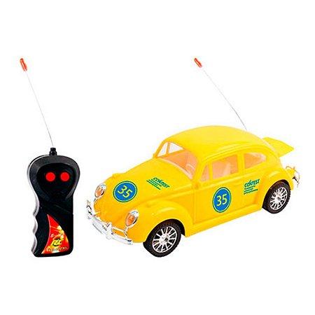 Carro Fusca Controle Remoto Super Car 35 Vm Dmt3764 Dm Toys