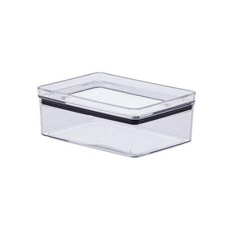 Pote Hermético Empilhável Porta Frios 770ml - Transparente