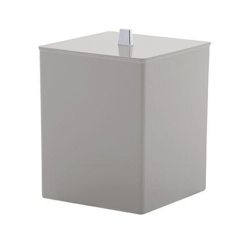 Lixeira Quadrada Quadratta - Branca 1575