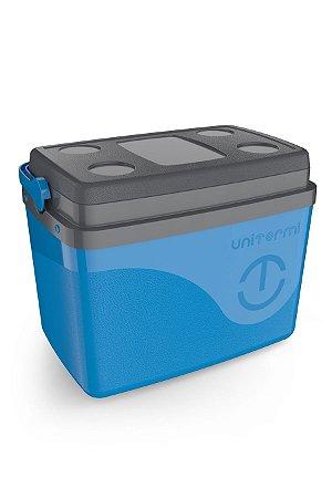 Caixa Térmica Uniterm Floripa 30L Azul