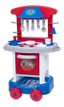 Cozinha Play Time Menino Fogãozinho Cotiplás - 2421
