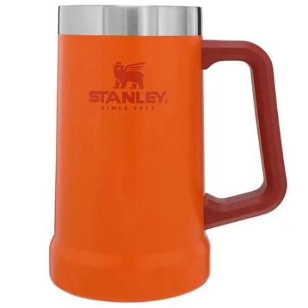Caneca Térmica De Cerveja/chopp Laranja 709ml - Stanley