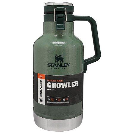 Growler Stanley Verde Térmico Black Matte 1.9 Litros