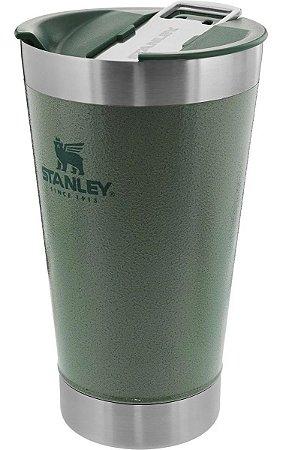 Copo Térmico Para Cerveja Com Tampa Verde 473ml Stanley
