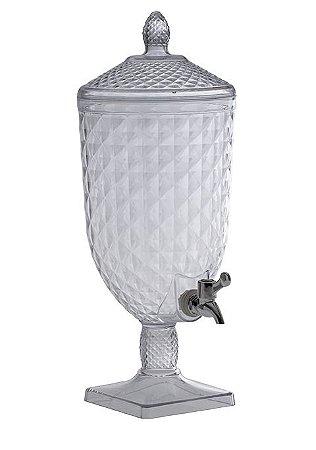 Suqueira C/ Torneira Transparente Luxxor 5L - 1157