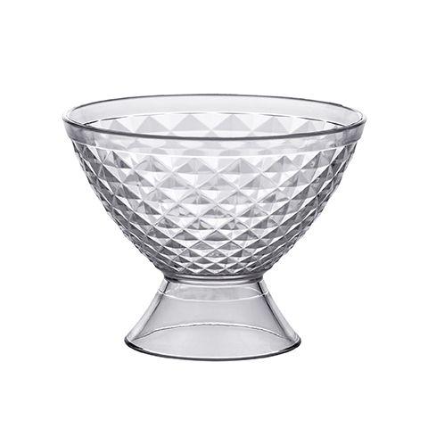 Taça Para Sobremesa Luxxor 400ml Transparente - 1583